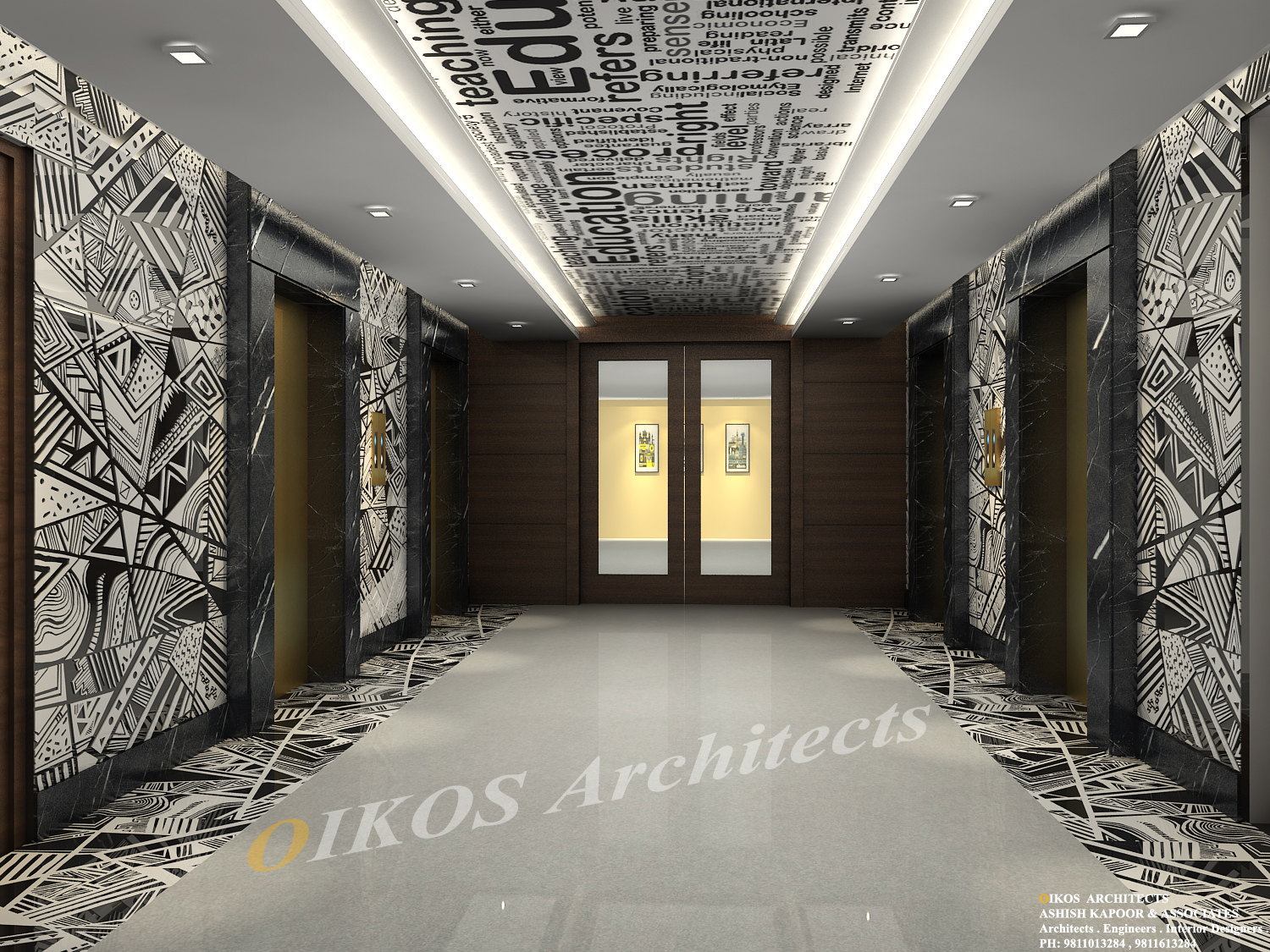 Corporate Office Lobby Interiors